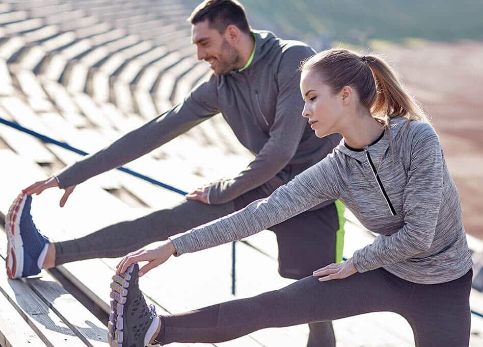 Sport und Fitness beim Ernährungsplan zum Abnehmen