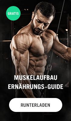 Ernährungsguide Muskelaufbau