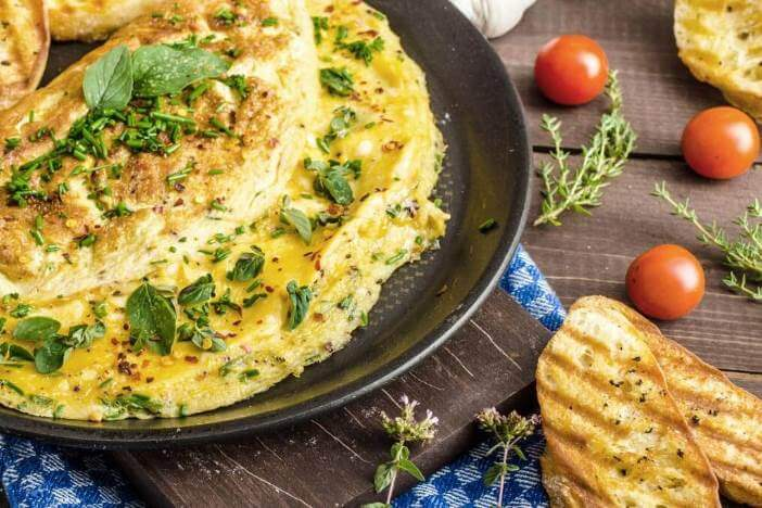 Rezept Für Omelett omelett spinat käse rezept upfit