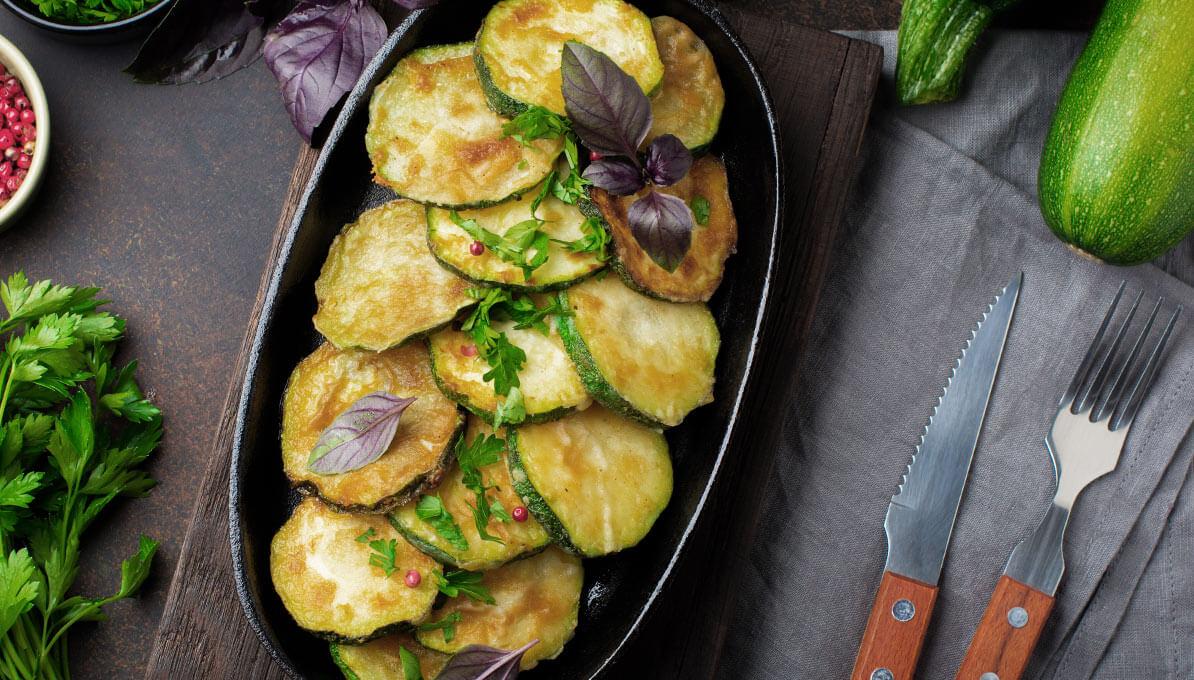 Upfit Zucchini Pfanne
